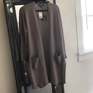 Sweaters - Saks cashmere duster size M/L